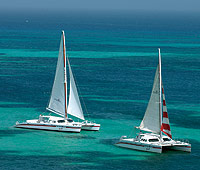 Redsails Aruba Resort catamaran fleet