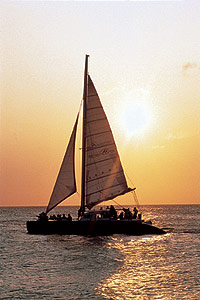 Redsails Aruba Sunset sail